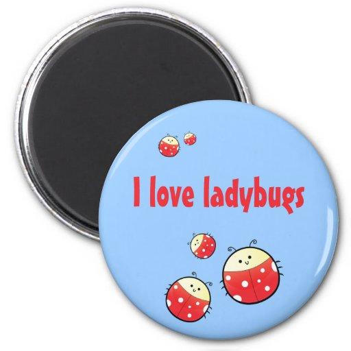 Ladybird Family Magnet
