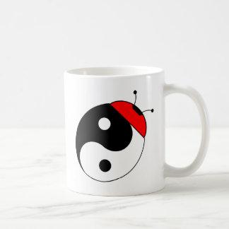 ladybird harmonized basic white mug