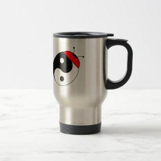 ladybird harmonized stainless steel travel mug