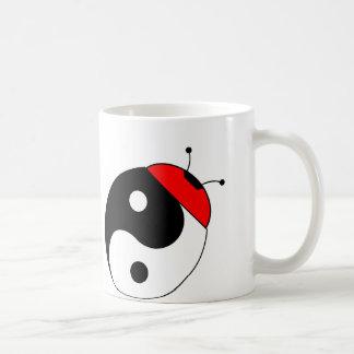 ladybird harmonizes basic white mug