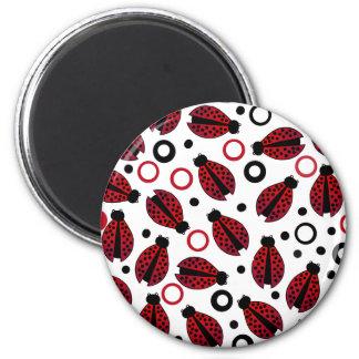 Ladybird Ladybug Magnets