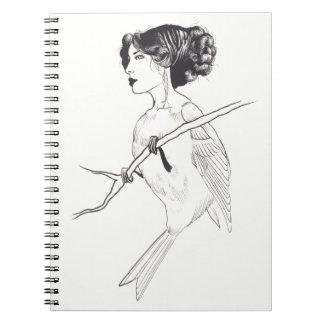 LadyBird: Lauren Busiere 2012 Notebook