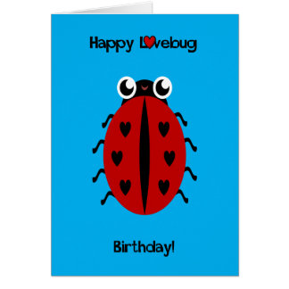 Ladybird Love Bug Card