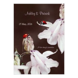 Ladybird Love Wedding Invitation