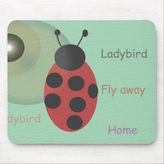 Ladybird Mouse Mat