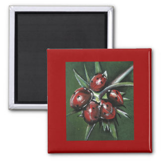 Ladybird Products Square Magnet