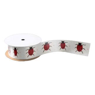 Ladybird Satin Ribbon