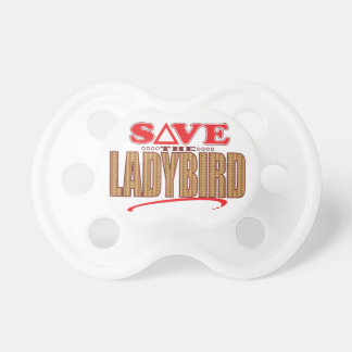 Ladybird Save Baby Pacifiers