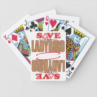 Ladybird Save Bicycle Playing Cards