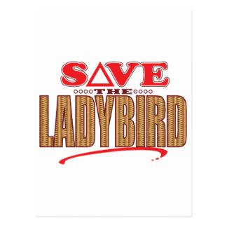 Ladybird Save Postcard
