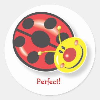 Ladybird Smiles! Reward Sticker