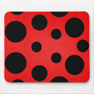 Ladybird spot mouse mat