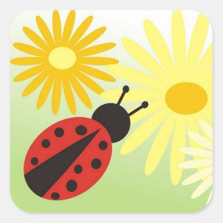 ladybird Sticker