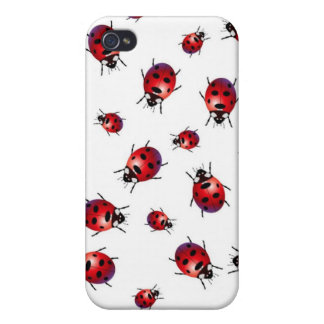 Ladybirds Cover For iPhone 4