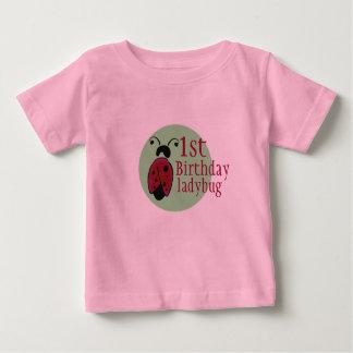 ladybug 1rst birthday baby T-Shirt