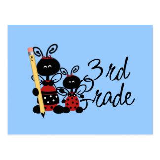 Ladybug 3rd Grade Tshirts and Gifts Post Card