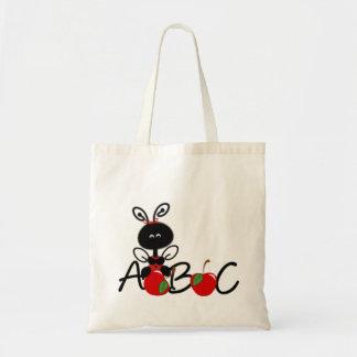 Ladybug Alphabet Teacher's Tote Bag