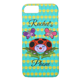 Ladybug and Butterflies Cell Phone Cover