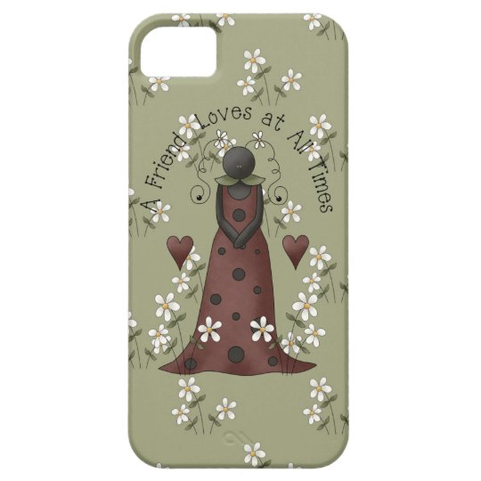 Ladybug and Daisies Friendship iPhone5 iPhone 5 Case