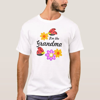 Ladybug and Flowers T-Shirt