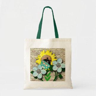 Ladybug and Sunflower Bags