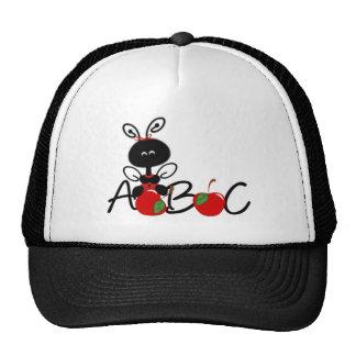 Ladybug Apples and ABC Trucker Hats