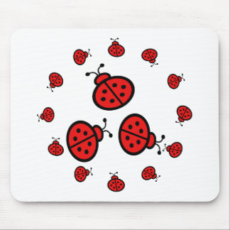 Ladybug Art Gifts Mouse Mat