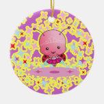 Ladybug Ballerina Ornament