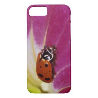Ladybug Beetle. (Hippodamia convergens) iPhone 8/7 Case
