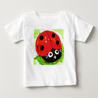 Ladybug both sides, Bugly the butterfly, Baby T-Shirt