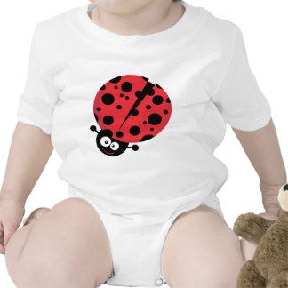 Ladybug Cartoon Character Tee Shirts
