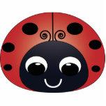 Ladybug Christmas Ornament Photo Cut Out