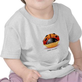 Ladybug Cupcake Baby Shirt