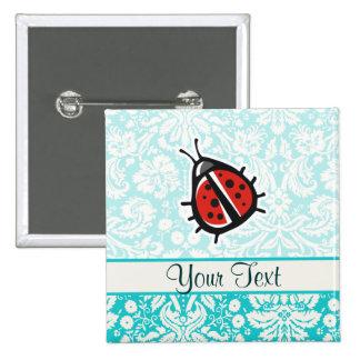 Ladybug Cute Button