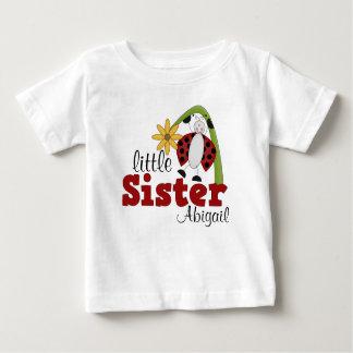 Ladybug Daisy Flower Little Sister Shirts