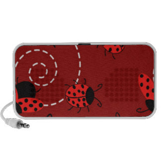 Ladybug doodle travelling speaker