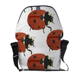 Ladybug dot Animal Office Custom Destiny Destiny'S Messenger Bags