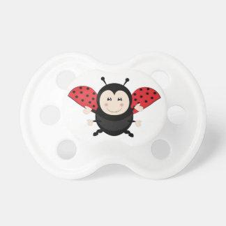 Ladybug Baby Pacifier
