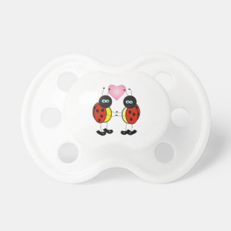 Ladybug Baby Pacifiers