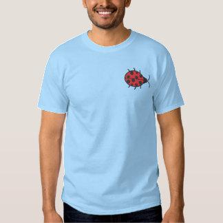Ladybug Embroidered T-Shirt
