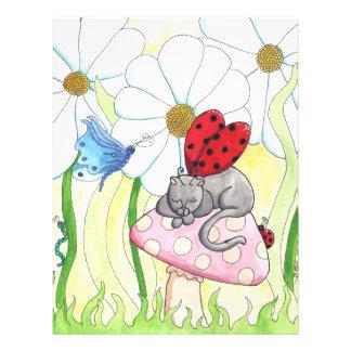 Ladybug Fairy Cat Full Color Flyer