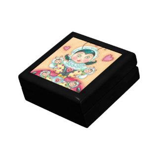 Ladybug Family TILE GIFT / KEEPSAKE BOX Jewelry