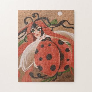 Ladybug fantasy jigsaw puzzle