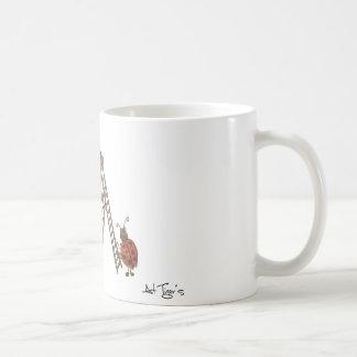 Ladybug Flowery Coffee Mug