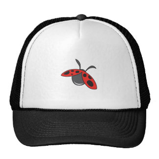 LADYBUG FLYING TRUCKER HAT