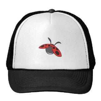 LADYBUG FLYING MESH HATS
