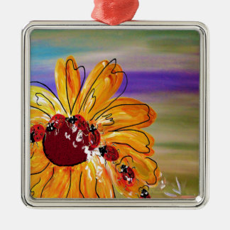 LADYBUG FOLLOW THE LEADER CHRISTMAS ORNAMENT