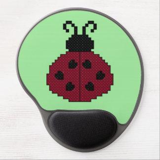 Ladybug Gel Mouse Mats