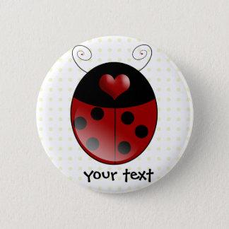 Ladybug Gifts 6 Cm Round Badge