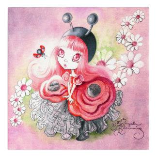 Ladybug Girl Acrylic Print